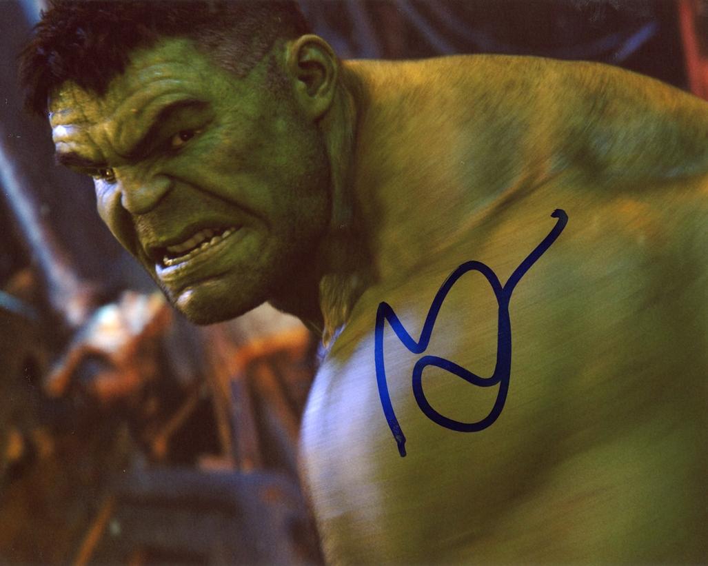Mark Ruffalo Signed Photo
