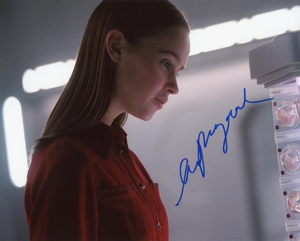 Clara Rugaard Signed Photo