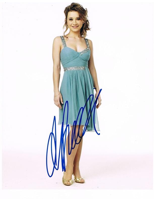 Olesya Rulin Signed Photo