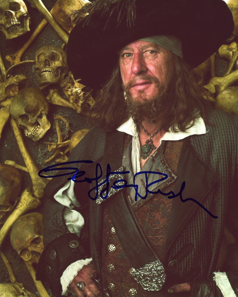 Geoffrey Rush Signed Photo