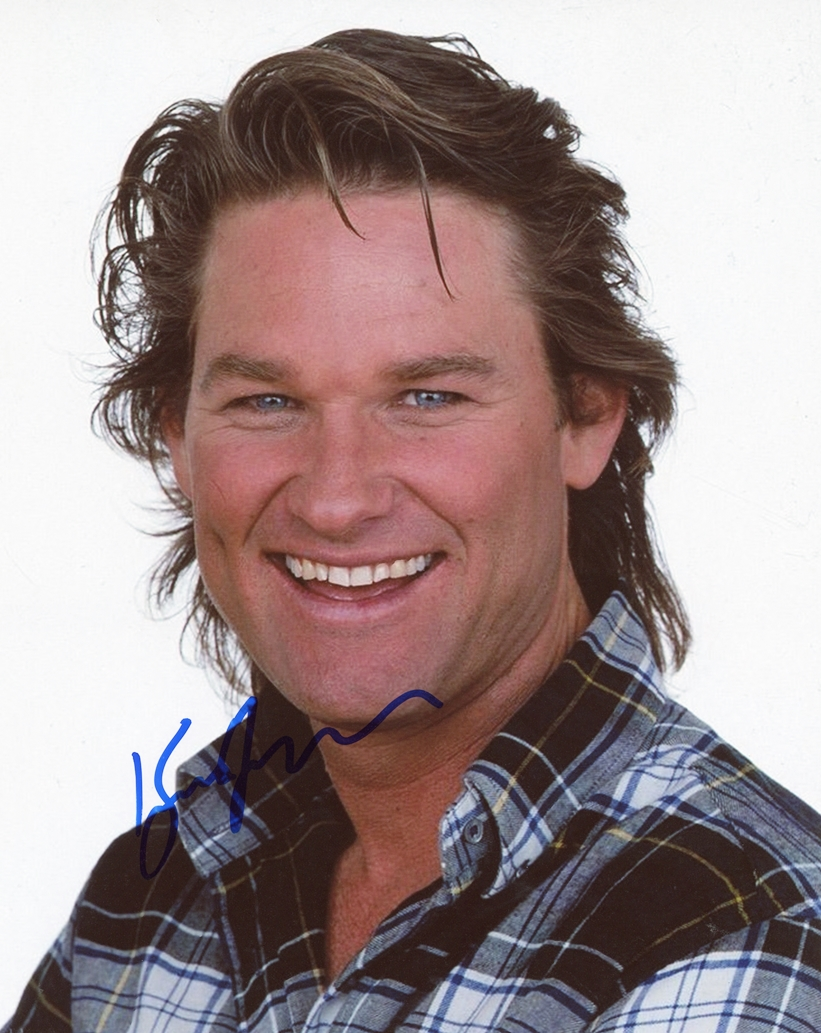 Kurt Russell Signed Photo