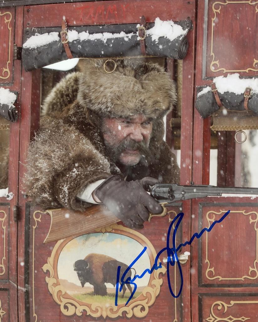 Kurt Russell Signed Photo
