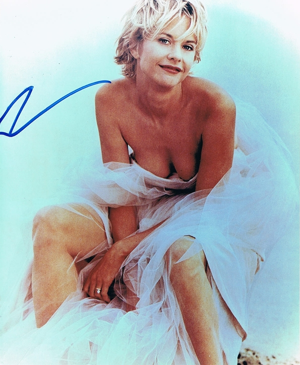 Meg Ryan Signed Photo