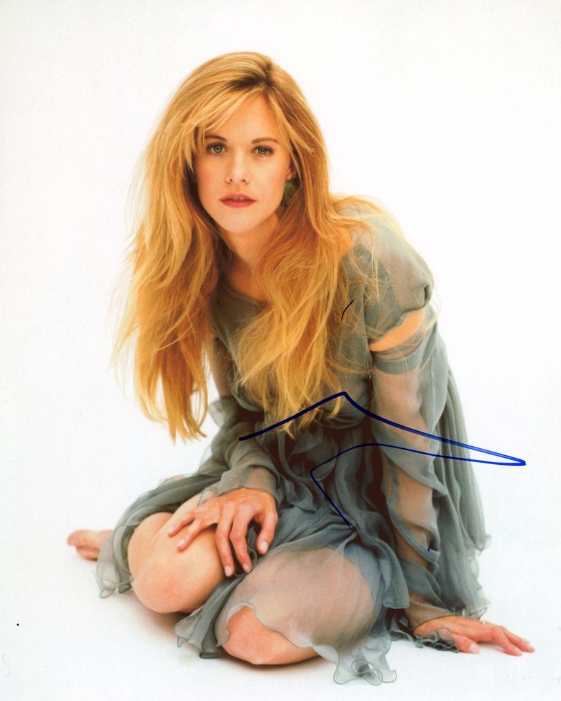 Meg Ryan Signed Photo