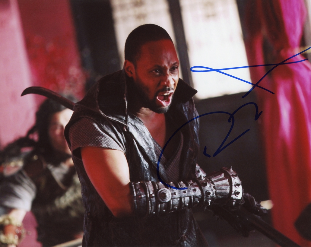 Rza Signed Photo