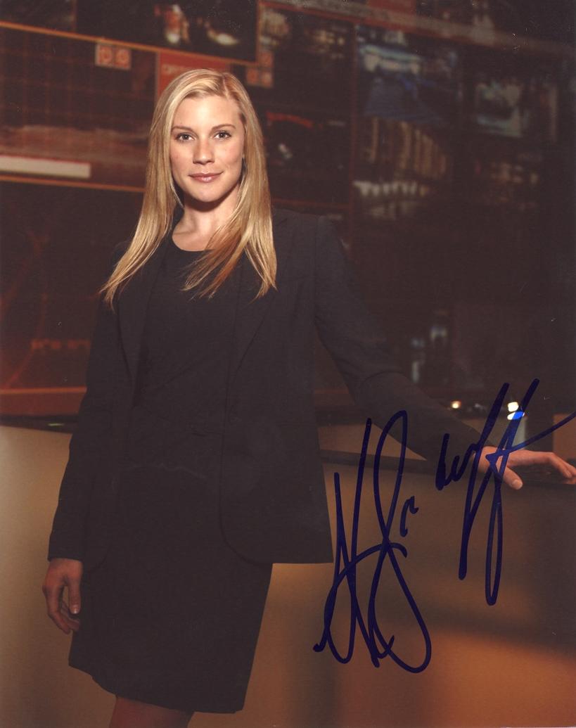 Katee Sackhoff Signed Photo