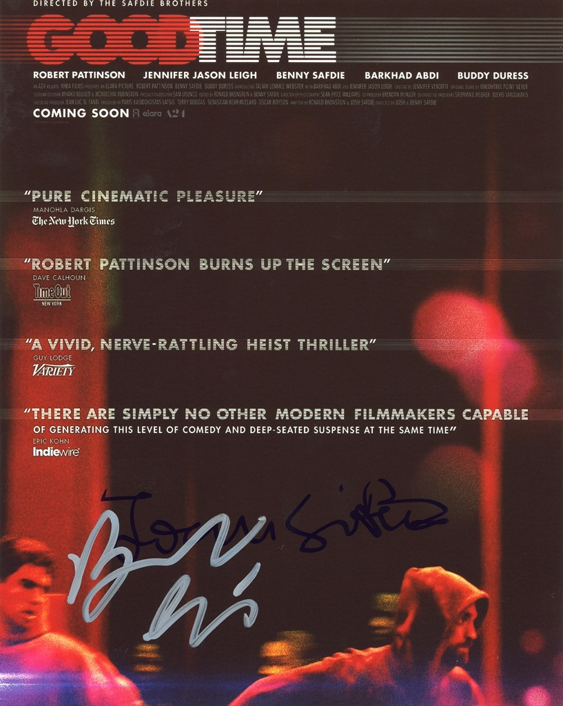Benny & Josh Safdie Signed Photo