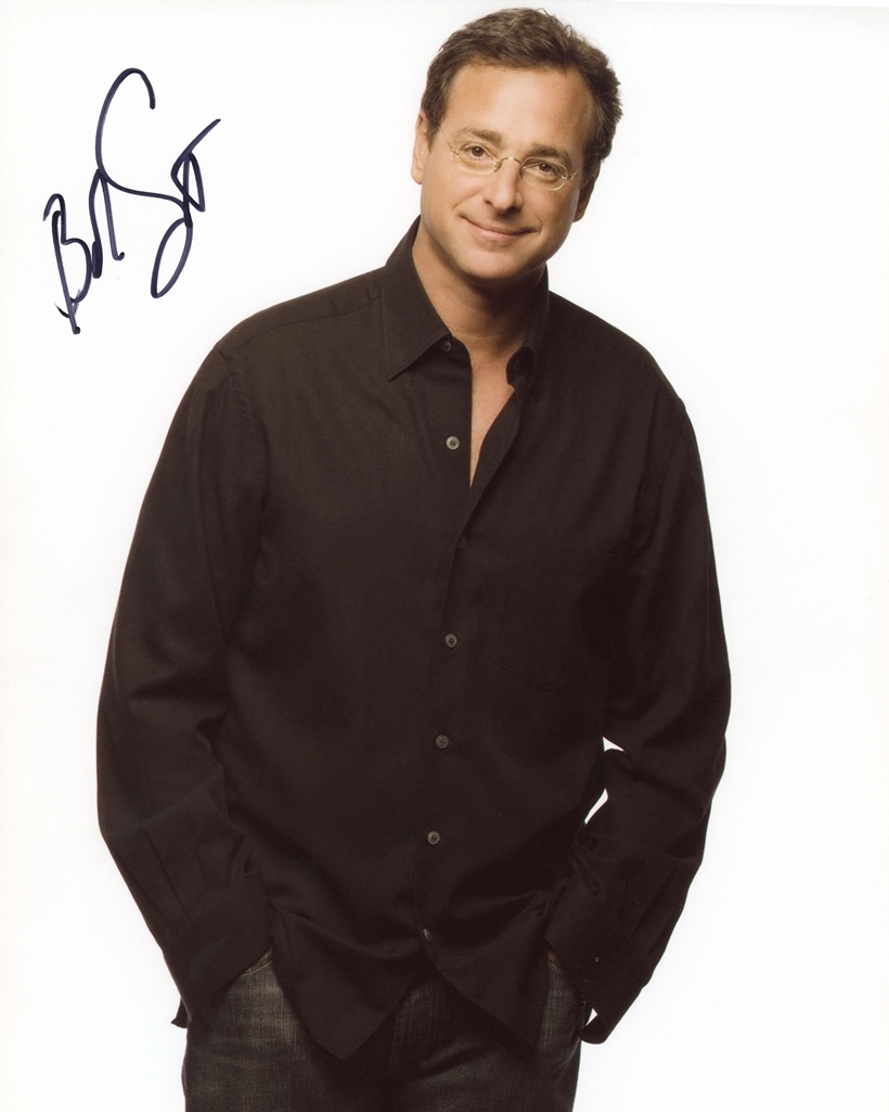 Bob Saget Signed Photo