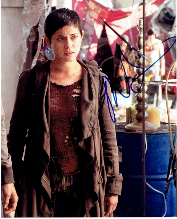 Rosa Salazar Signed Photo