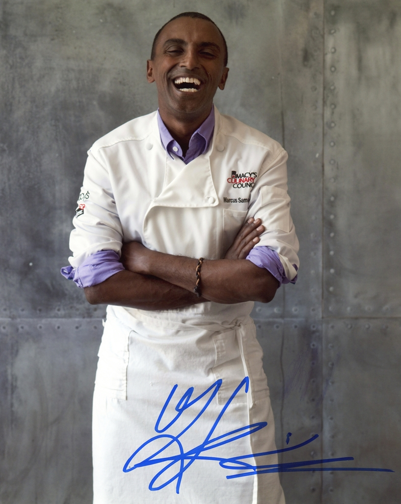 Marcus Samuelsson Signed Photo