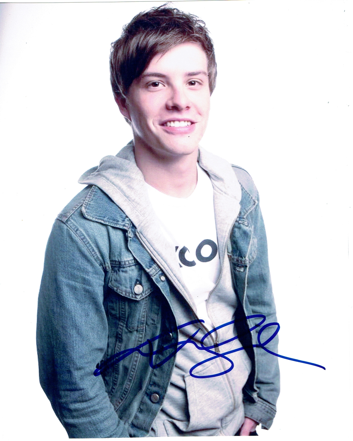 Xavier Samuel Signed Photo