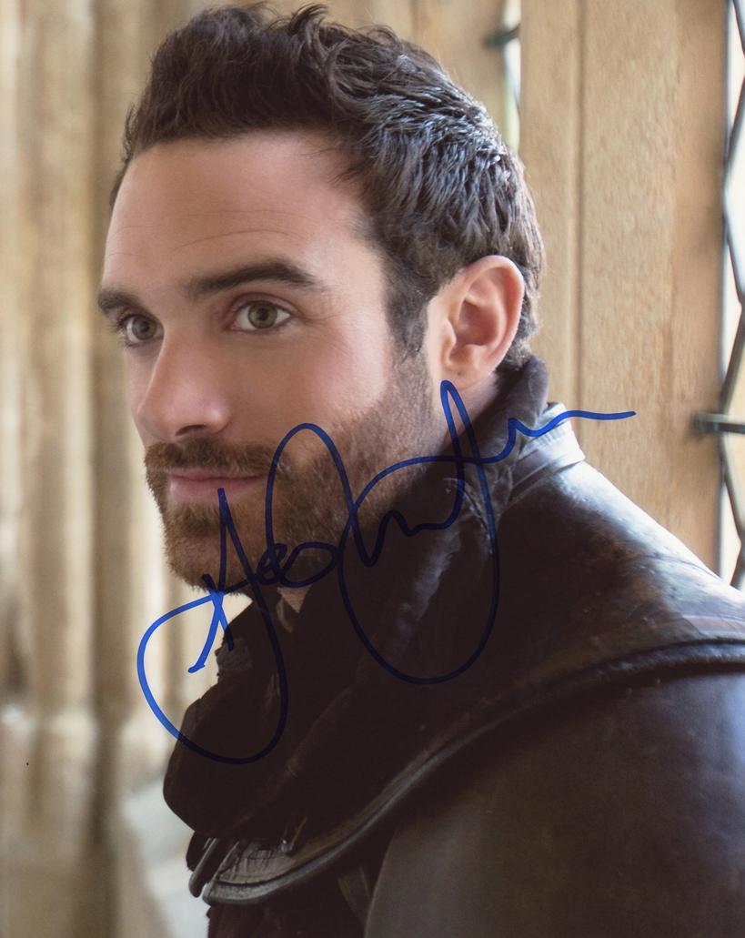 Joshua Sasse Signed Photo