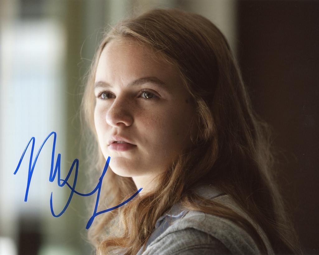 Morgan Saylor Signed Photo