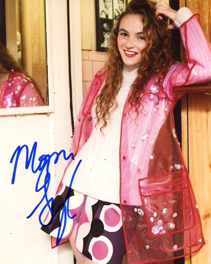 Morgan Saylor Signed Photo