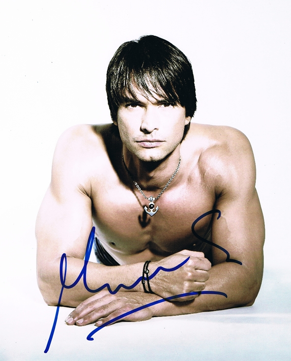 Marcus Schenkenberg Signed Photo