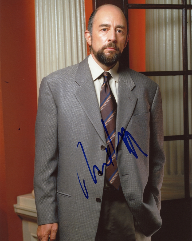 Richard Schiff Signed Photo