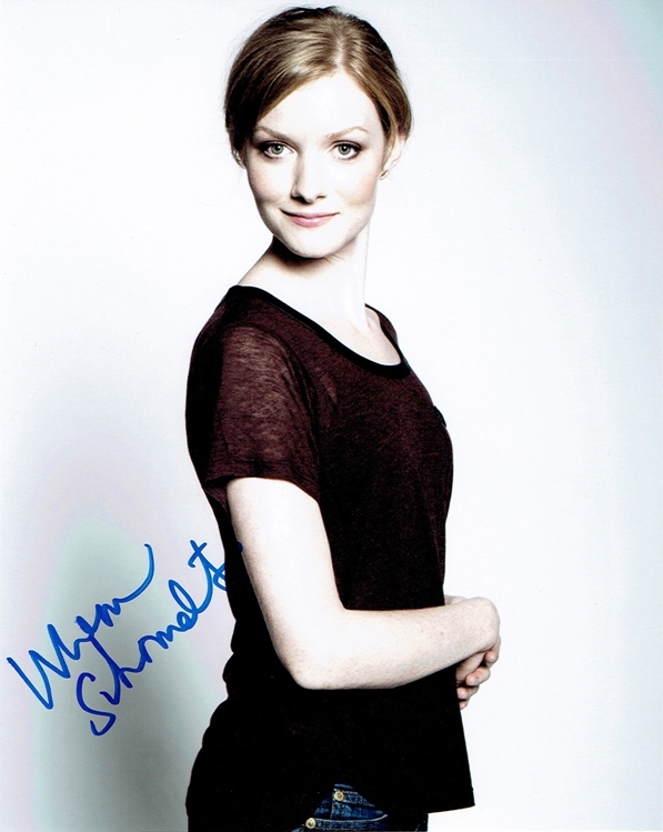 Wrenn Schmidt Signed Photo