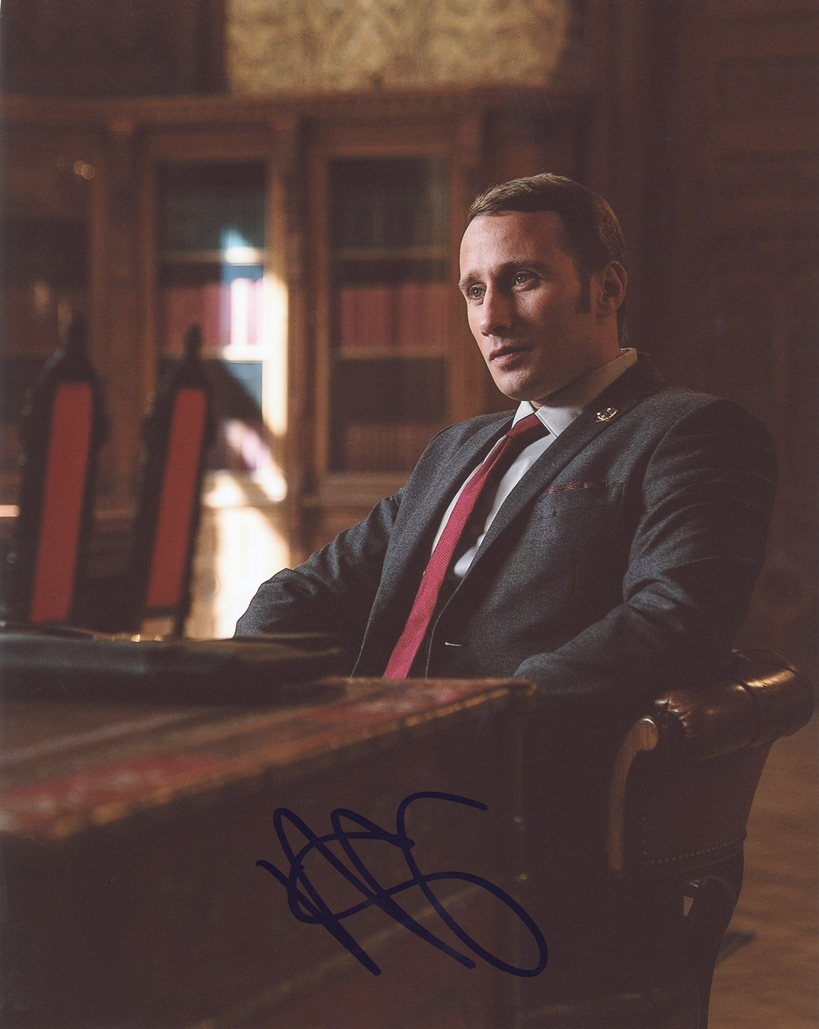 Matthias Schoenaerts Signed Photo