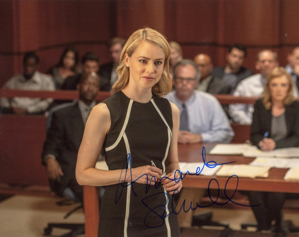 Amanda Schull Signed Photo