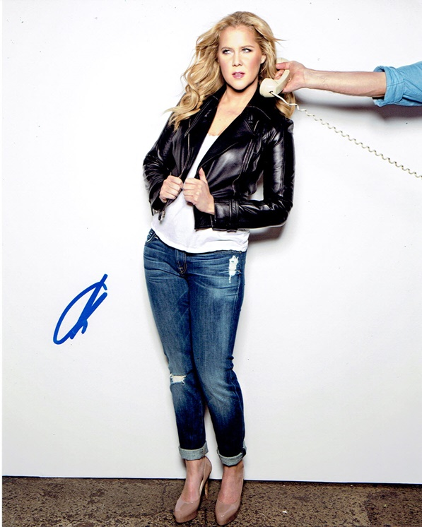 Amy Schumer Signed Photo