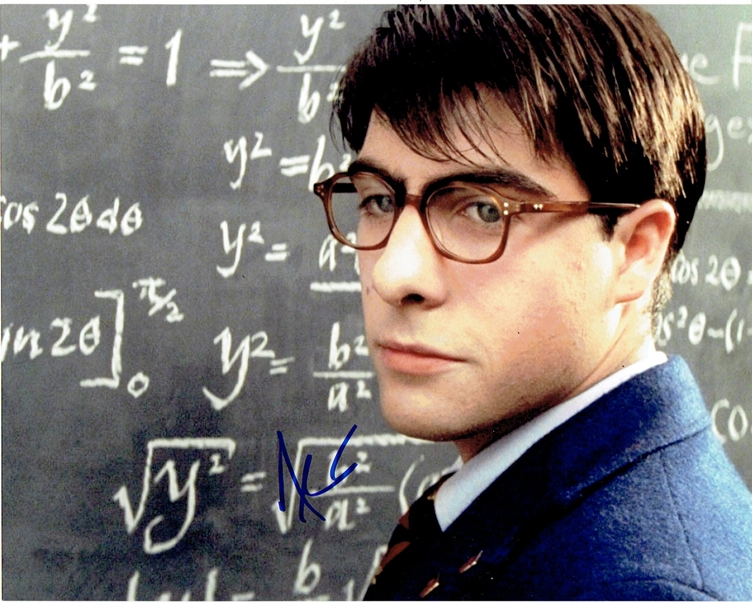 Jason Schwartzman Rushmore Autograph Signed 8x10 Photo B