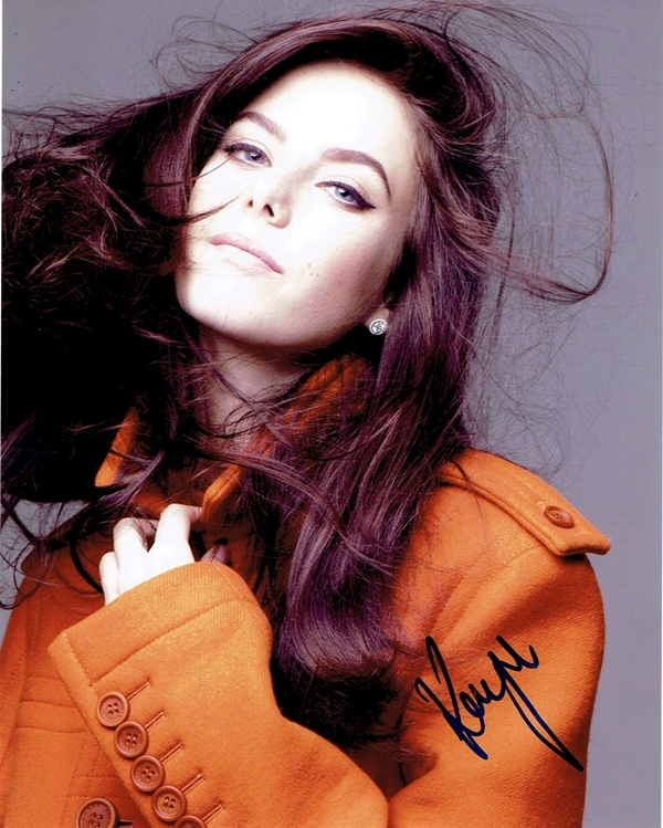 Kaya Scodelario Signed Photo