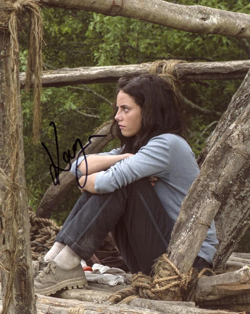Kaya Scodelario Signed Photo
