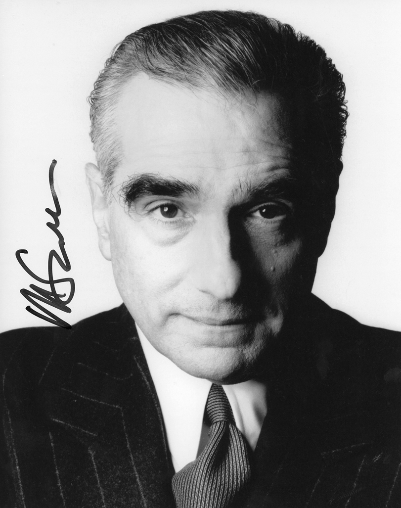 Martin Scorsese Signed Photo
