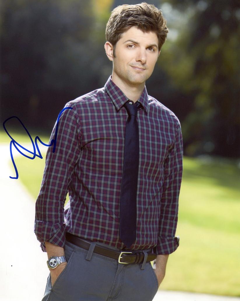 Adam Scott Signed Photo