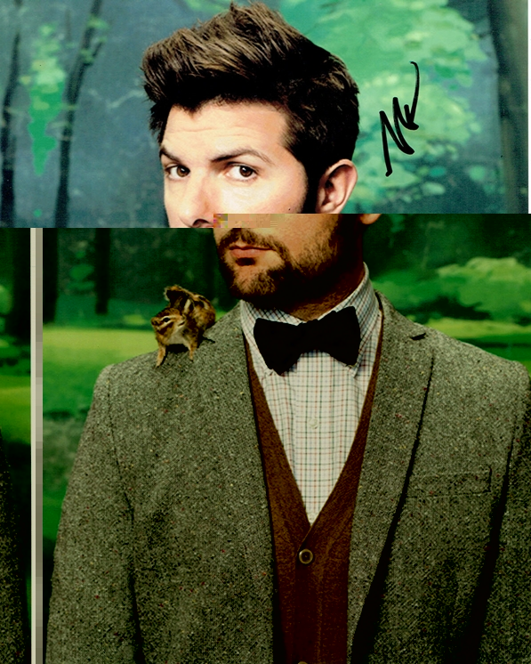 Adam Scott Signed Photo