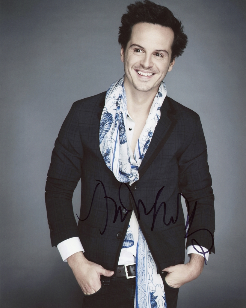 Andrew Scott Signed Photo