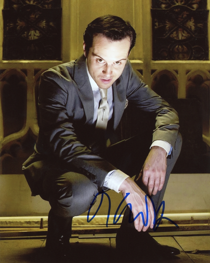 Andrew Scott Signed Photo