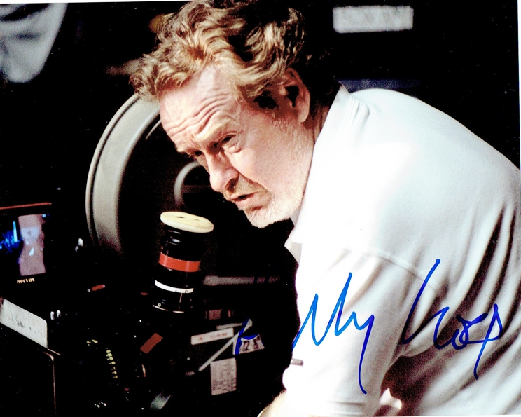 Ridley Scott Signed Photo