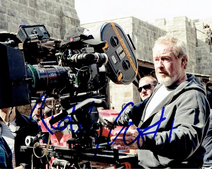 Ridley Scott Signed Photo