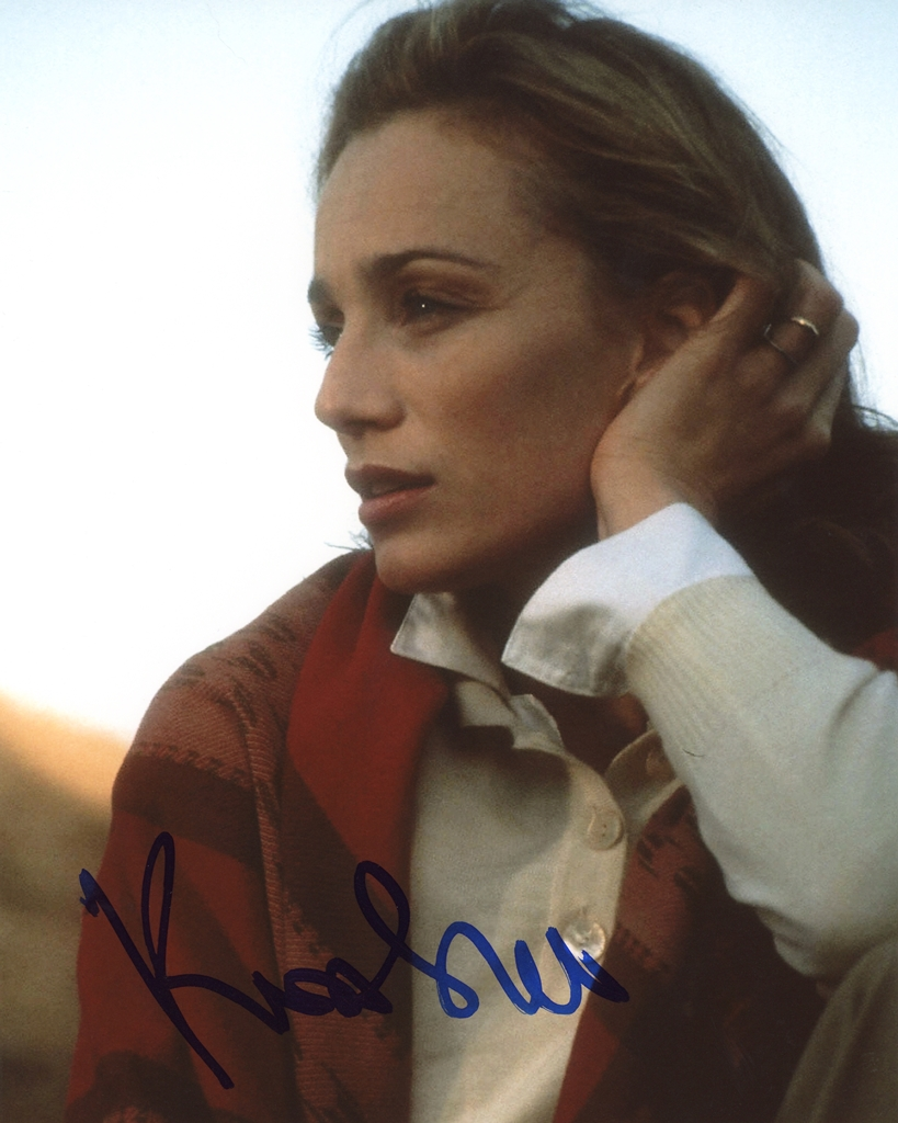 Kristin Scott Thomas Signed Photo