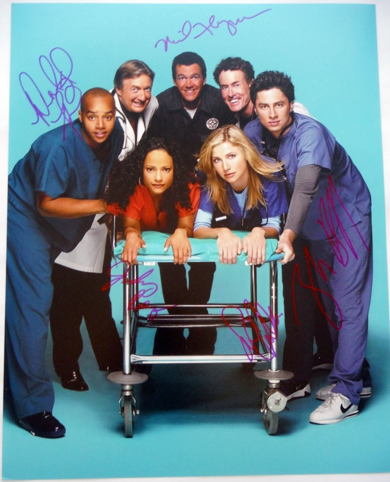 Scrubs Signed Photo