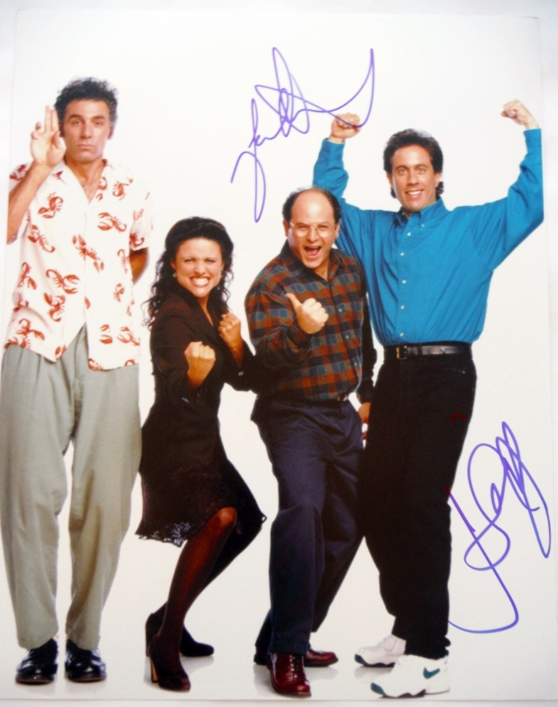 Seinfeld Signed Photo