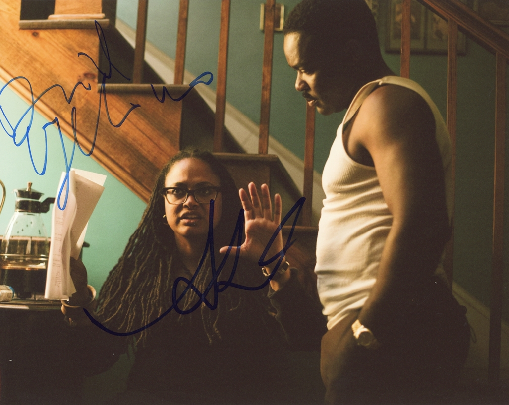Ava Duvernay & David Oyelowo Signed Photo