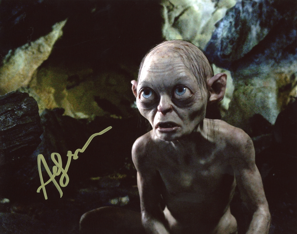 Andy Serkis Signed Photo