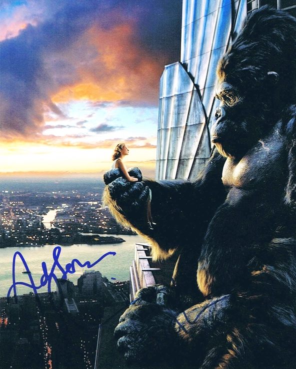 Andy Serkis & Naomi Watts Signed Photo