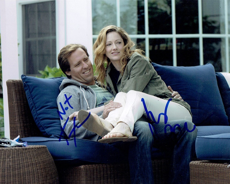 Judy Greer & Nat Faxon Signed Photo