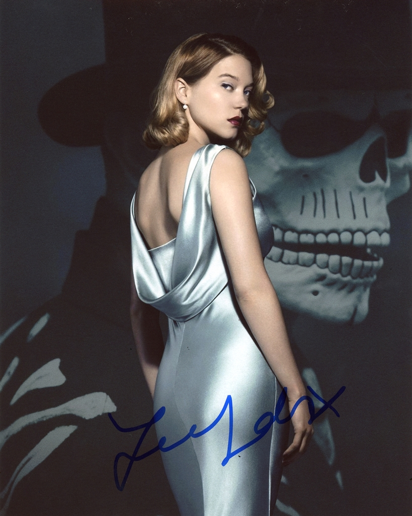 Lea Seydoux Signed Photo