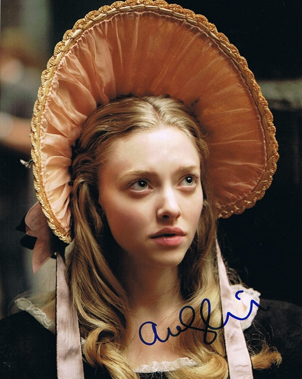 Amanda Seyfried Signed Photo