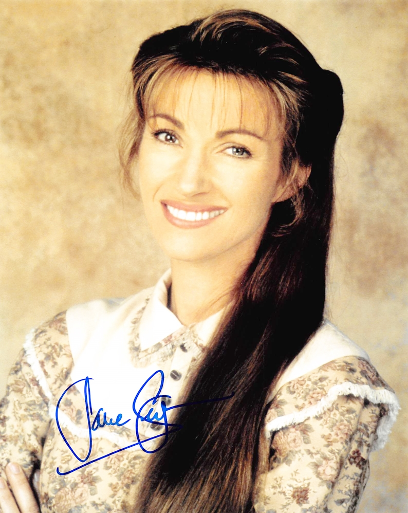 Jane Seymour Signed Photo