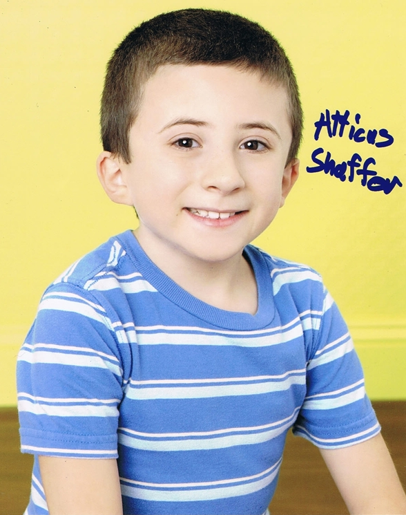 Atticus Shaffer Signed Photo