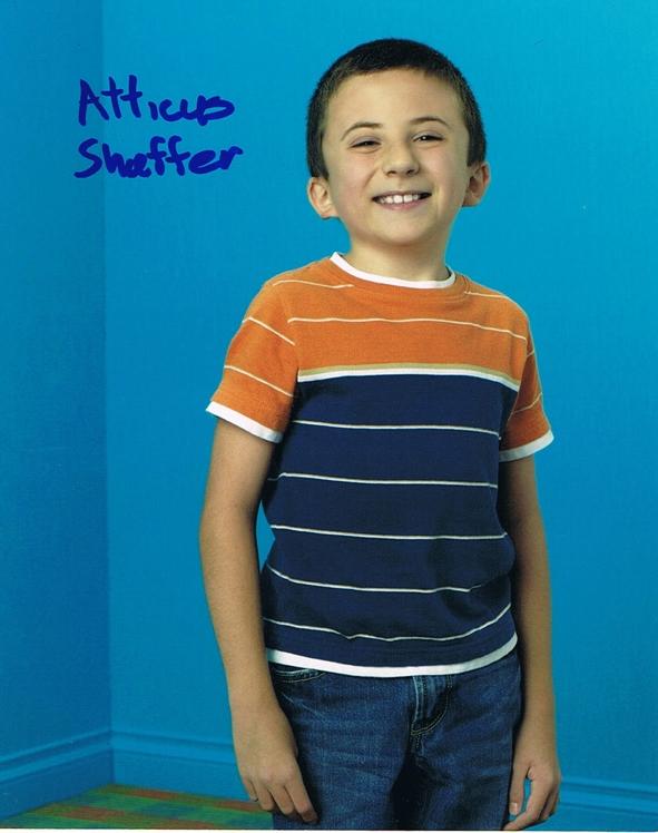 Atticus Shaffer Signed Photo