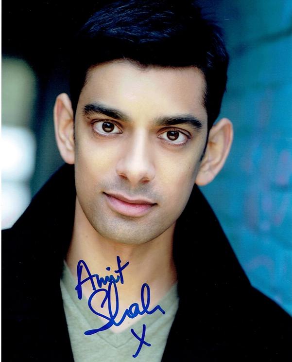 Amit Shah Signed Photo