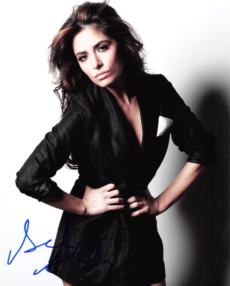 Sarah Shahi Signed Photo