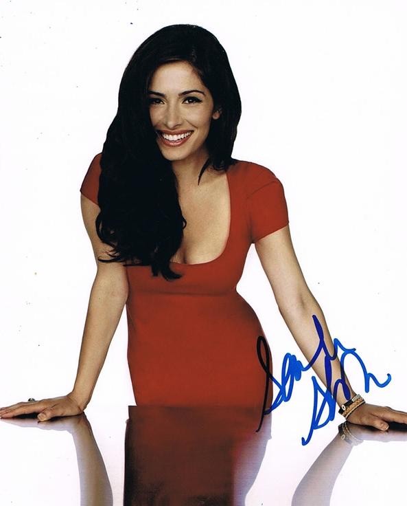 Sarah Shahi Signed Photo