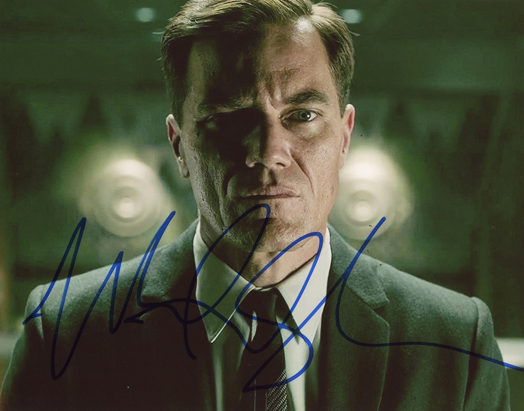 Michael Shannon Signed Photo